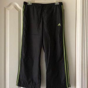 Adidas black workout pants
